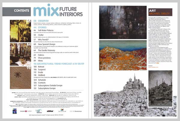 Mix Future Interiors Magazine